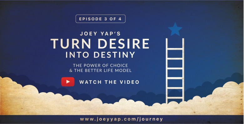 Joey Yap's A Journey Into You