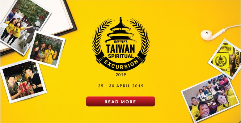 Joey Yap's Taiwan Spiritual Excursion 2019