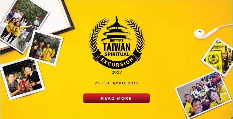 Joey Yap's Taiwan Spiritual Excursion 2019