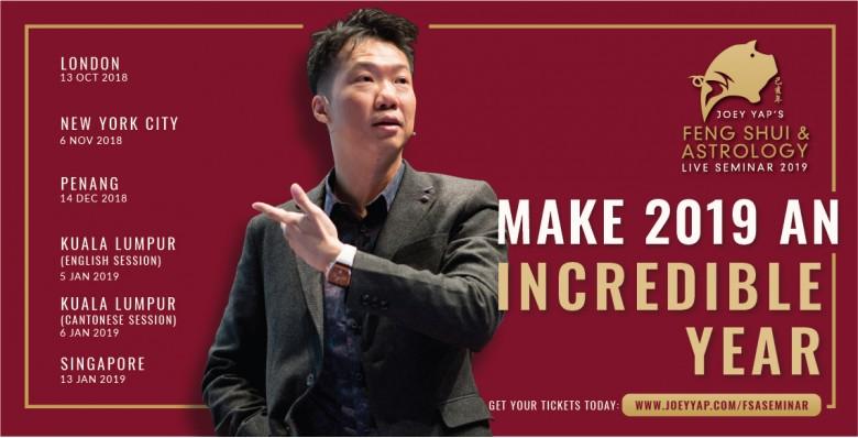 Joey Yap's Feng Shui & Astrology Seminar 2019