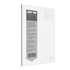 LIMITED EDITION Monthly Tong Shu Planner 2020 (White Cover)