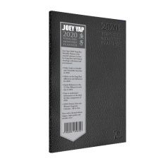 LIMITED EDITION Monthly Tong Shu Planner 2020 (Black Cover)