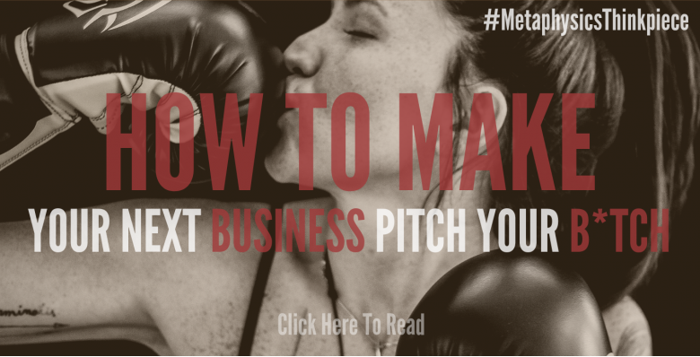 How to Make Your Next Business Pitch