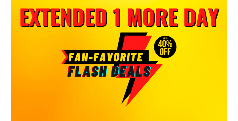 Fan-Favorite Flash Deals