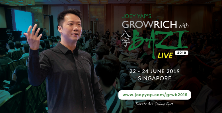 Joey Yap's GROWRICH With BAZI