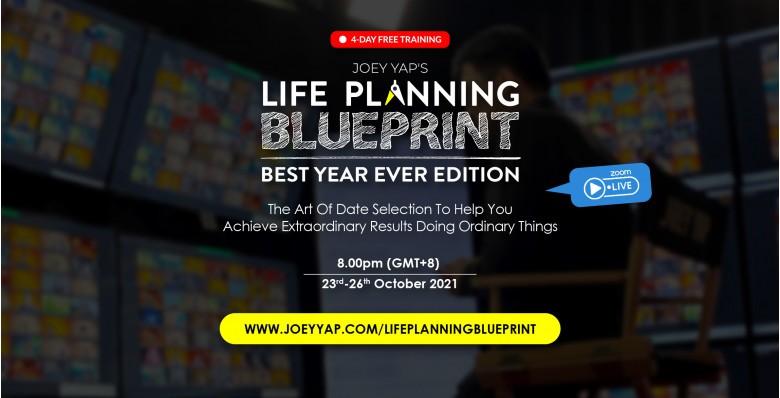 Joey Yap's Life Planning Blueprint