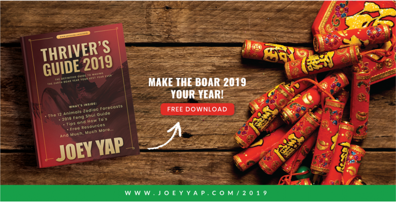 Joey Yap's Thriver's guide 2019